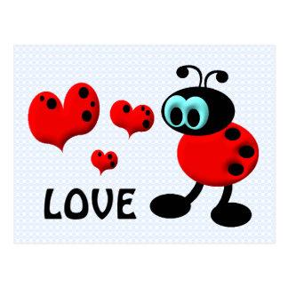 Little Love Bug Postcard
