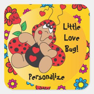 Little Love Bug Theme Stickers