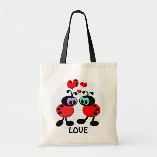Little Love Bugs Tote Bag