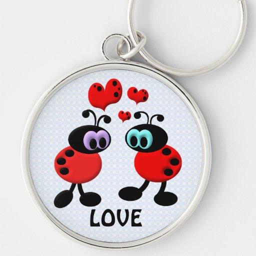 Little Love Bugs Keychains