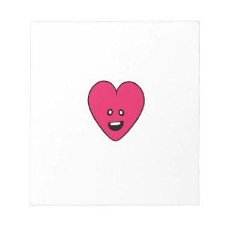 Little love heart healthbar cute design notepad