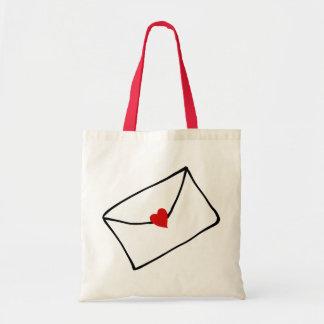 Little Love Letter Budget Tote Bag