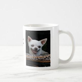 Little Lover White Chihuahua Mug