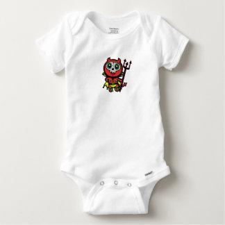 Little Luchador Diablo - Baby Baby Onesie