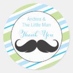 Little Man | Baby Shower Favour Sticker