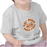 Little Man BIG Tigers Fan T-shirts
