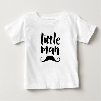 Little man moustache typography kids T-shirt