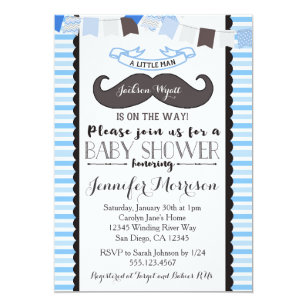 Little man moustache baby shower gifts gift ideas zazzle uk little man mustache baby shower invitation filmwisefo Choice Image