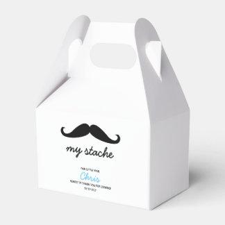 Little Man, Mustache theme Party Favour Box
