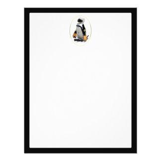 Little Mascot Hockey Player Penguin Custom Flyer