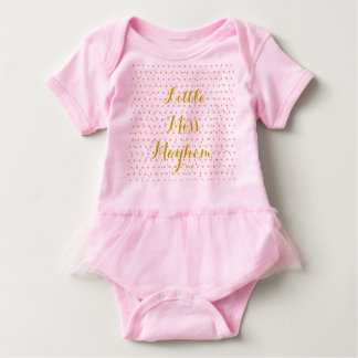 Little Mayhem Miss Baby Bodysuit
