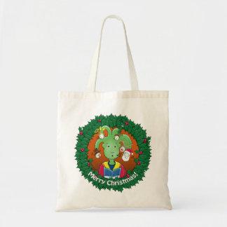 Little Medusa. Merry Christmas! Budget Tote Bag