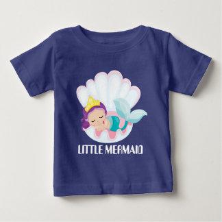 Little Mermaid baby girl add text bodysuit
