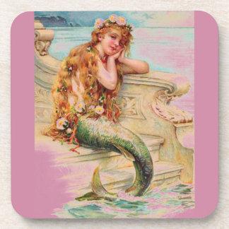Little Mermaid Drink Coasters