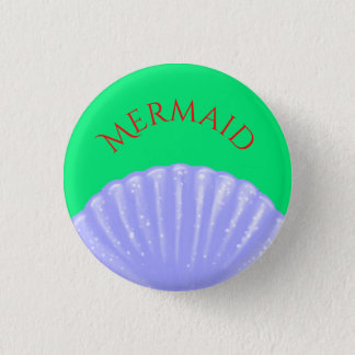 Little Mermaid Inspired 3 Cm Round Badge