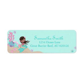 Little Mermaid Return Label AA