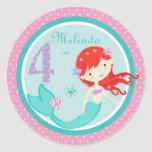 Little Mermaid Sticker Auburn 4