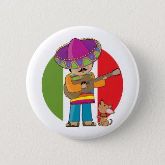 Little Mexico 6 Cm Round Badge