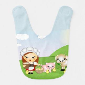 Little milkmaid bib