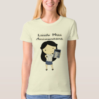 Little Miss Accountant T-Shirt