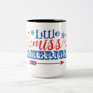 Little miss America Mug