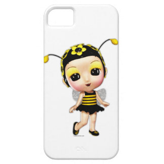 Little Miss Bumblebee iPhone 5 Case