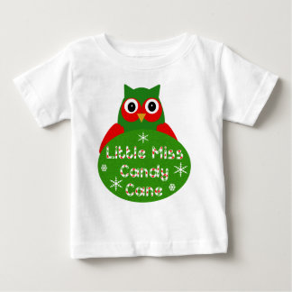 Little Miss Candy Cane Christmas Design T-shirts