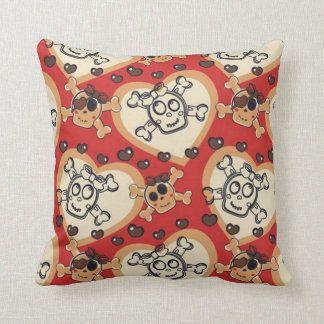 Little Miss Cross And Bones Cushion