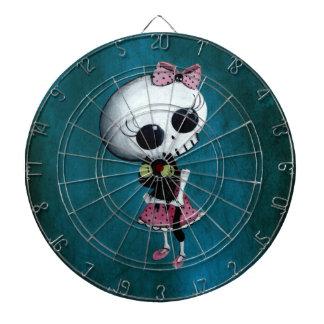 Little Miss Death - Halloween Beauty Dartboard