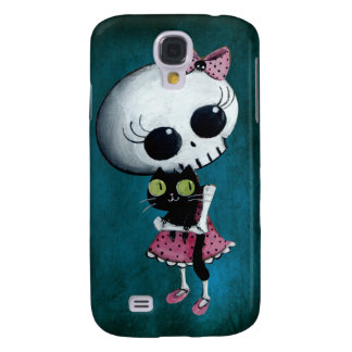 Little Miss Death - Halloween Beauty Galaxy S4 Case