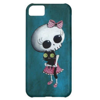 Little Miss Death - Halloween Beauty iPhone 5C Case