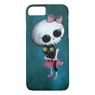 Little Miss Death - Halloween Beauty iPhone 8/7 Case
