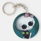 Little Miss Death - Halloween Beauty Key Ring
