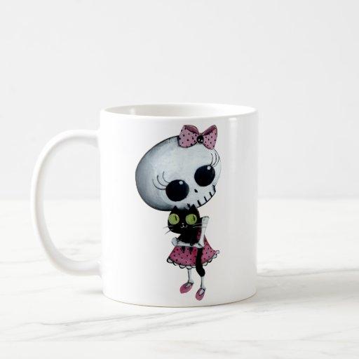 Little Miss Death - Hallowen Beauty Coffee Mugs