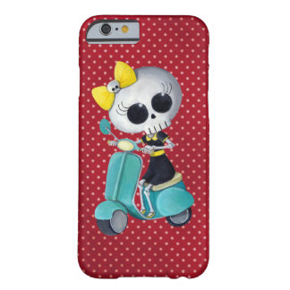 Little Miss Death on Scooter Barely There iPhone 6 Case
