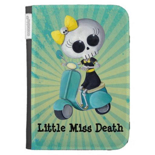 Little Miss Death on Scooter Kindle Cover