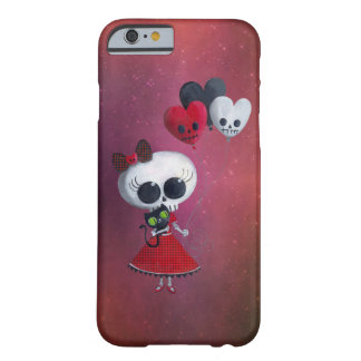 Little Miss Death Valentine Girl Barely There iPhone 6 Case