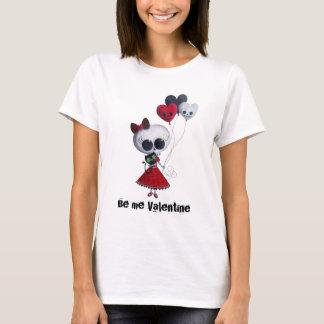 Little Miss Death Valentine T-Shirt
