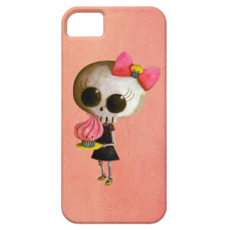 Little Miss Death with Cupcake iPhone 5 Case