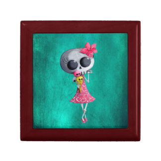 Little Miss Death with Halloween Ice Cream Gift Box