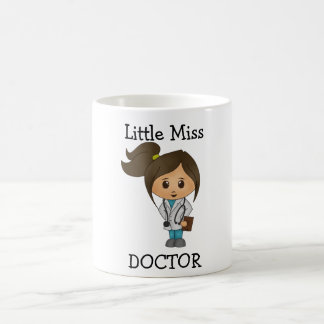 Little Miss Doctor - Cute Brunette Coffee Mug