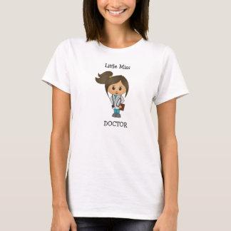 Little Miss Doctor - Cute Brunette T-Shirt