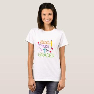 Little miss First Grader School T-Shirt