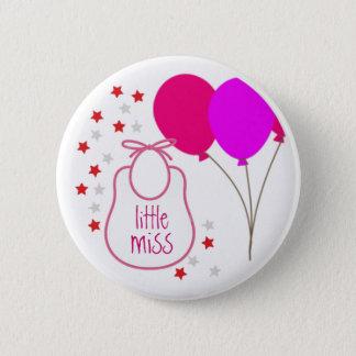 Little Miss (It's a Girl) Button