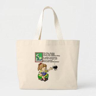 Little Miss Muffet Canvas Bag