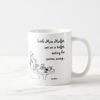 Little Miss Muffet, Classic White Coffee Mug