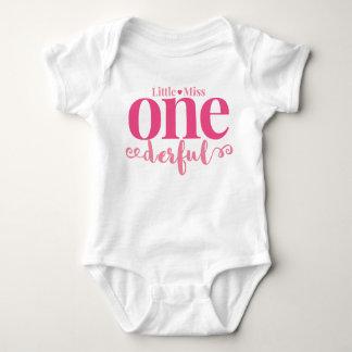 Little Miss Onederful First Birthday Shirt