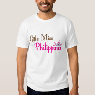 Little Miss Philippines T Shirts