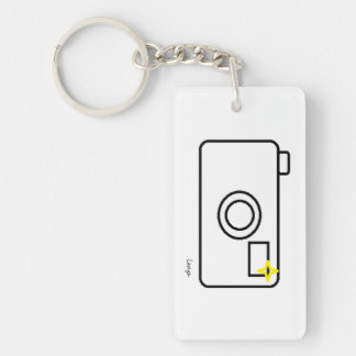 Little Miss Photography Key Chain