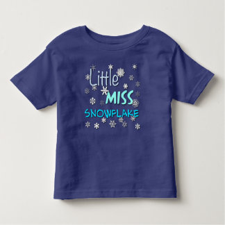Little Miss Snowflake Toddler T-Shirt
